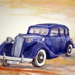 Vauxhall aquarell