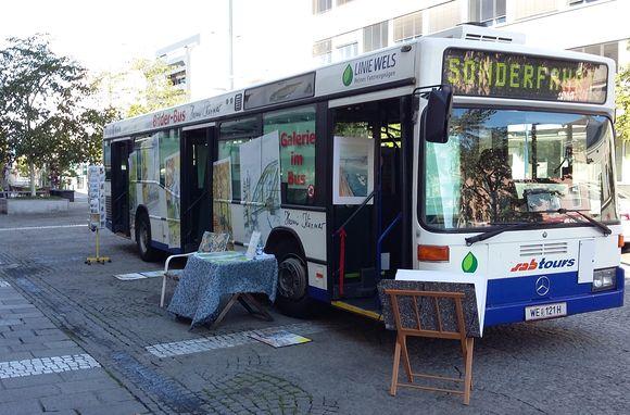 Bilderbus in Wels am Kaiser Josef Platz